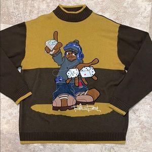 blue boy Sweaters - Hustle sweater